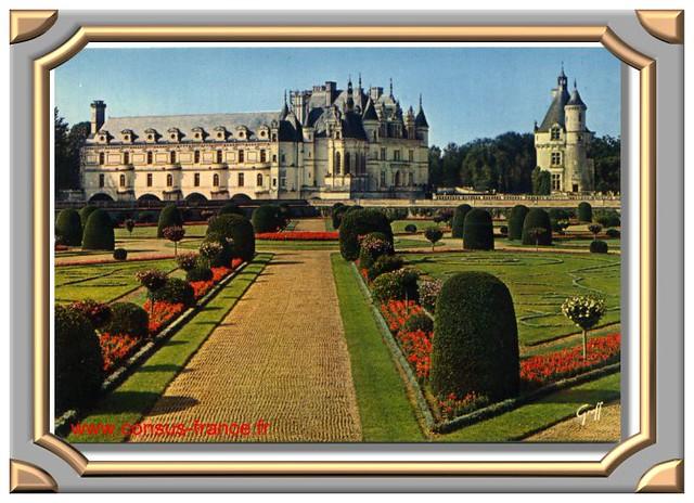 CHENONCEAU - Le Château et la tour des Marques -70-150