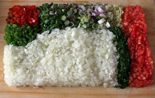Cuadro de Vegetales