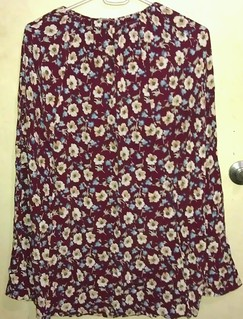 Vintage floral print long skirt from Mama's closet