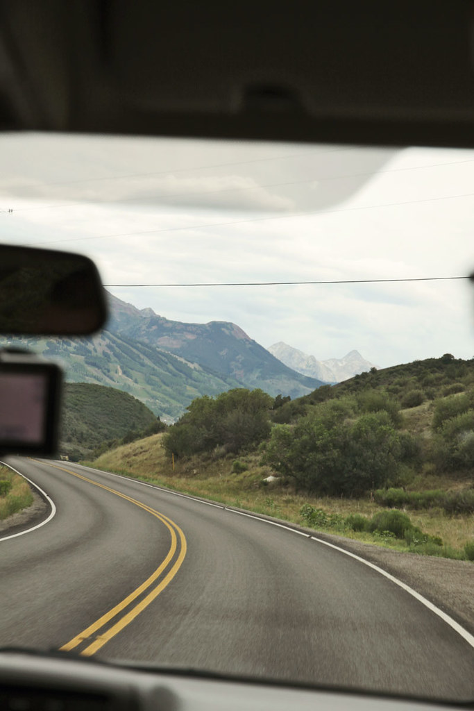 driving to Aspen 24