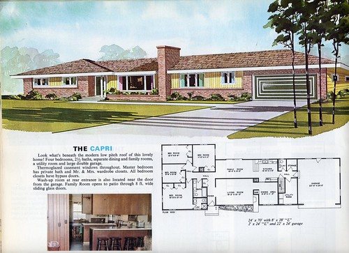 Flickriver most interesting photos from houses and house for 1970s house plans