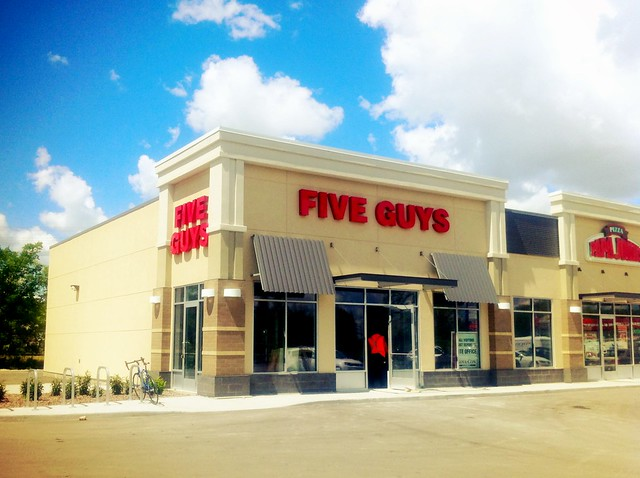 Five Guys Pembina Location Now Open