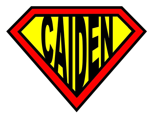 superman logo caiden