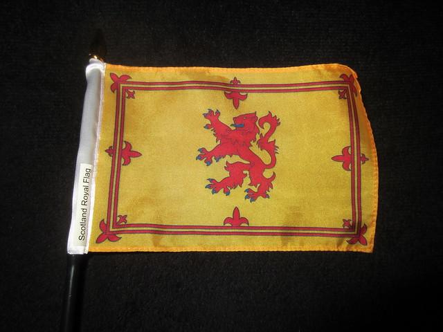 Scotland Flag History