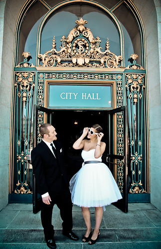 Julie Michelle Photography San Francisco City Hall Wedding