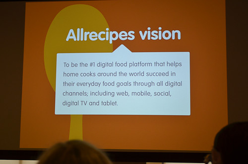 A slide talking about how to succeed as a digital food platform.