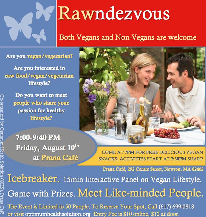 Meet vegans online