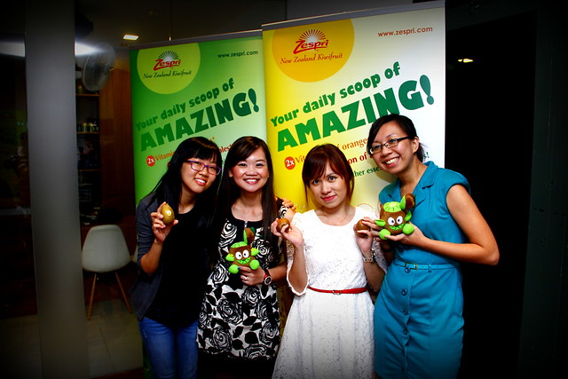 Zespri Kiwi Dinner @ The Living Cafe 053