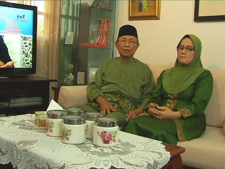 Datuk Aziz Satar dan Datin Hasimah Delan