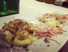 #visioni #ferie #food #foodporn #cibo #mazzancolle #patate #tartufo