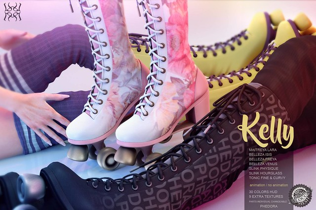 Phedora exclusively for Versus Event​ <3 Kelly roller skates! Vote for team B ♥