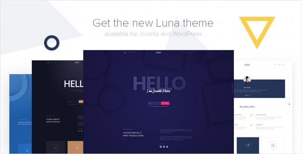 Luna v1.0.0 – YOOtheme Premium Joomla Template