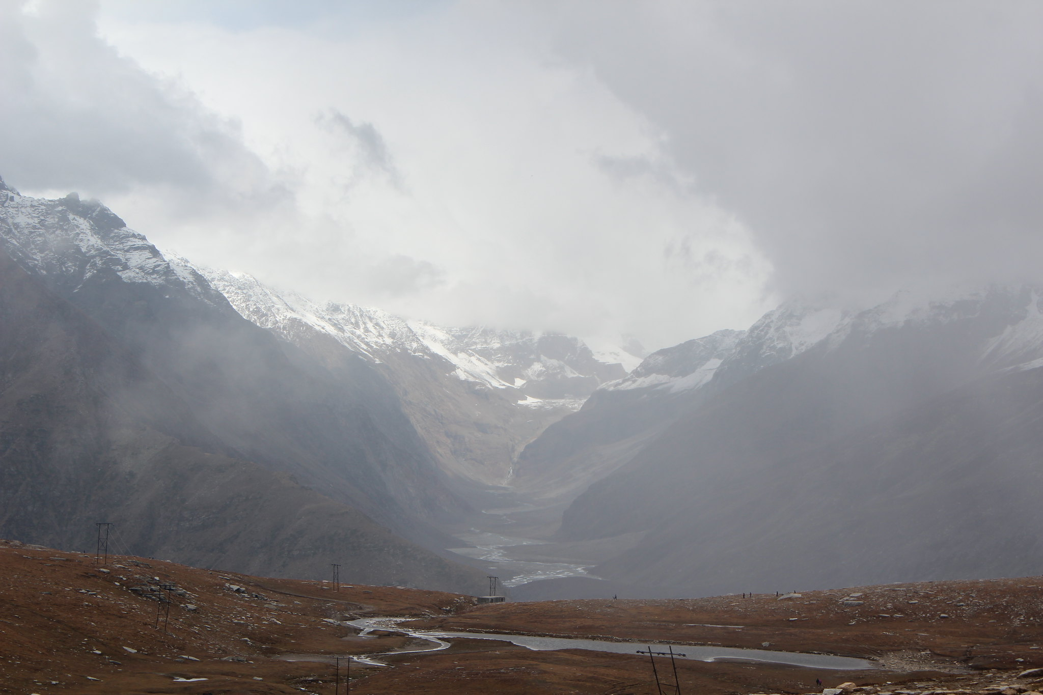 View from Rohtang La