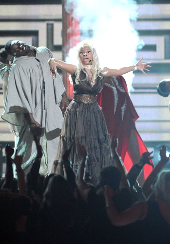 Nicki Minaj 2012 GRAMMY AWARDS 15