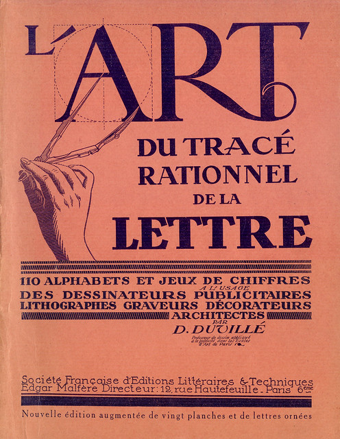 Art du tracé rationnel de la lettre (1934)