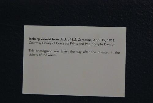 museum - iceberg details