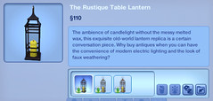 The Rustique Table Lantern