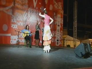 video 04 Swanny Leda y al toque Yumiel Rascón V Feria Abril Las Palmas de Gran Canaria 2012
