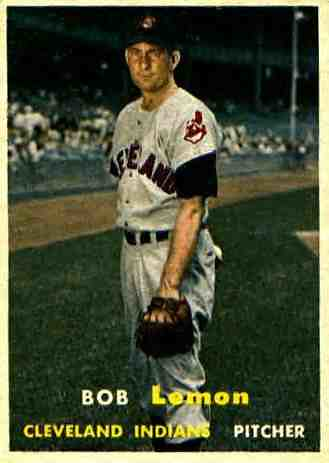 Bob Lemon baseball card