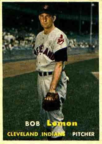 Bob Lemon baseball card