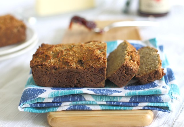 Paleo almond coconut banana bread