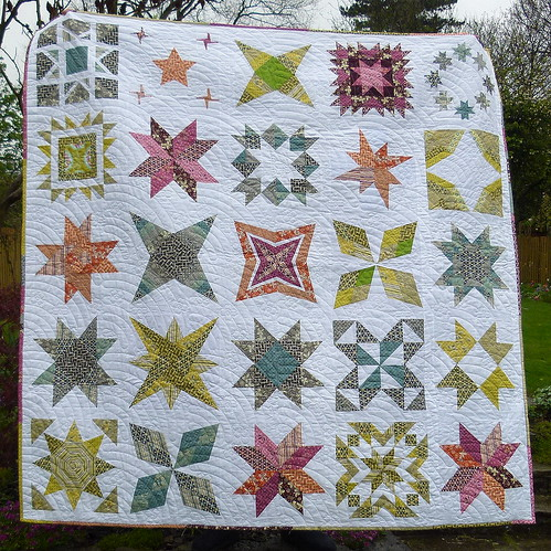 The Star Beast - A Brit Bee Quilt