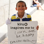 KLRU inspires me to... learn and be happy.