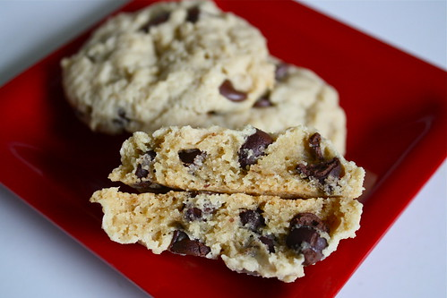 Cream Cheese Choc Chip Cookies
