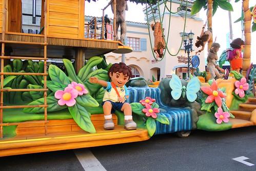 Dora & Diego - Universal's Superstar Parade