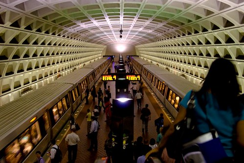 the DC Metro (by: MJM/Mike, creative commons license)