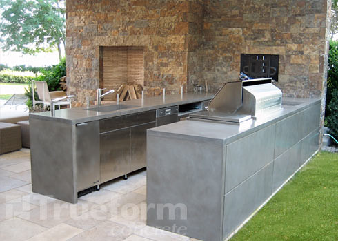 Concrete Countertop Outdoor Kitchen Flickr Photo Sharing