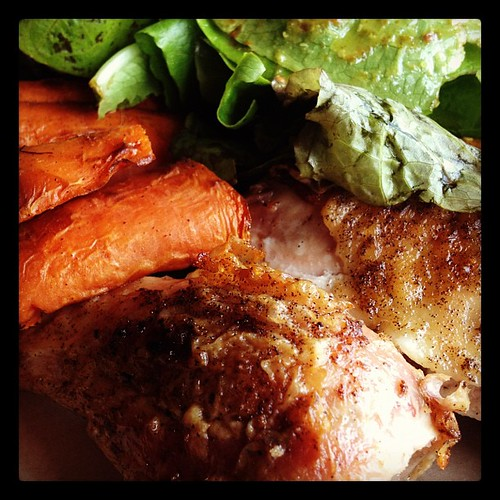 Lunch today from Urban Chicken. So good and #paleo friendly!