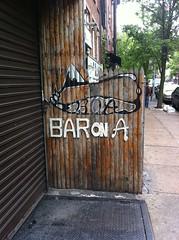Bar On A
