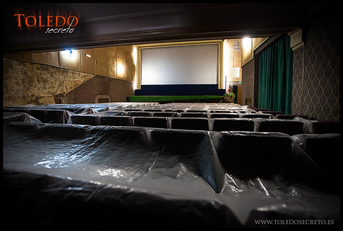 Patio de Butacas del Cine Alcántara en Toledo