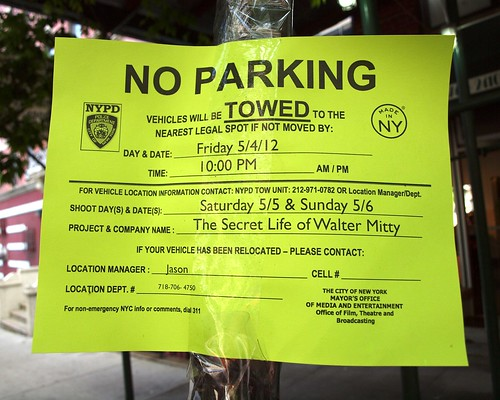 The Secret Life of Walter Mitty Comedy - 20th Century Fox Movie Filming in Harlem, New York City