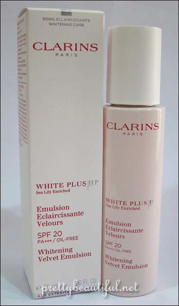 Clarins White Plus HP - Whitening Velvet Emulsion