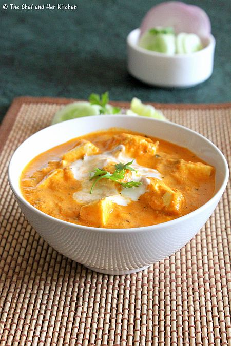 ... and HER KITCHEN: PANEER MAKHANI | PANEER MAKHANWALA | PANEER RECIPES