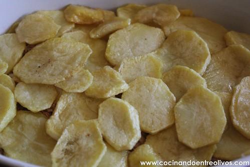 Patatas con bechamel y atún (5)