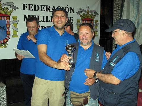 Paco Guerrero, trofeo a la pieza mayor