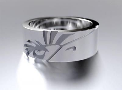 Mighty eagle ring