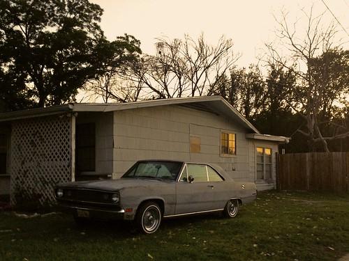 street sunset house color digital austin evening texas dusk neighborhood dodge dart duval iphone 56th noethloop