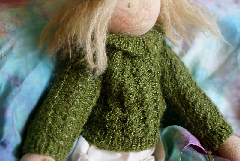 doll sweater pattern