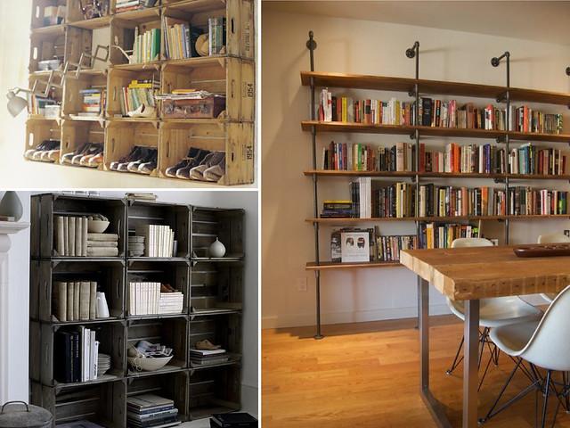 Diy Bookshelves A Pair Amp A Spare