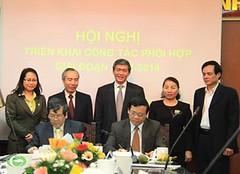 Trưởng ban Tuyên giáo Trung ương Đinh Thế Huynh dự hội nghị phối hợp công tác giai đoạn 2012-2014