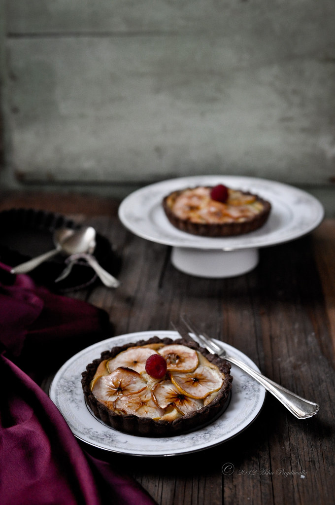 Lady Apple Frangipane tart