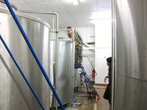 Fermentation Tank Leeds Brewery