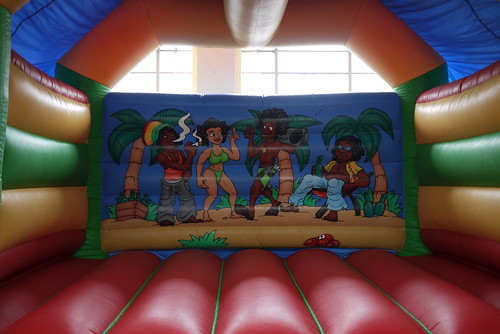 Rasta Bouncy Castle?