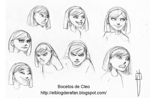 bocetos Cloe