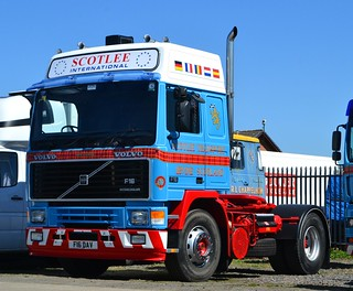 Scotlee Volvo F16 - Irvine yard May'12