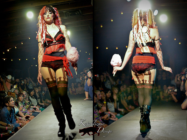 Dolls Rn't Dead - Madame Trapeze Fashion Show 05-12-12